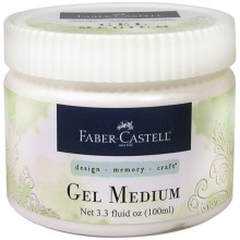 Gel Medium 100ml Mixed Media By Faber Castell
