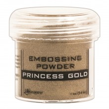 Princess Gold Ranger Embossing Powder