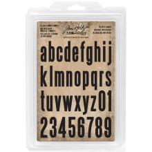 Cling Foam Stamps 36/Pkg TH Idea-Ology