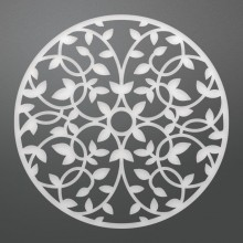 "Dies Juniper Doily 3.9"" By Couture Creations"