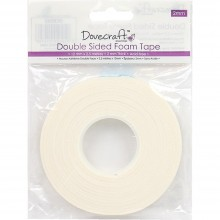 Thick Double-Sided Foam Tape 12mmX2.5m By Dovecraft