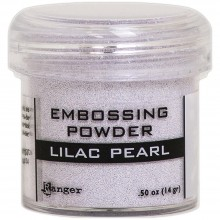 Lilac Pearl Ranger Embossing Powder