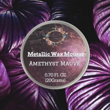 Amethyst Mauve Metallic Wax 20grams Tin By Get Inspired