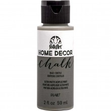 FolkArt Home Decor Chalk Acrylic Paint, 2oz Castle