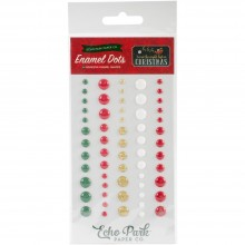 Enamel Dots 60/Pkg Twas The Night Before Christmas Adhesive By Echopark