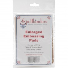 "Spellbinders Wizzard Enlarged Embossing Pads 5""X7"", 2/Pkg"