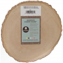 "7"" To 9"" Wide Basswood Country Round"