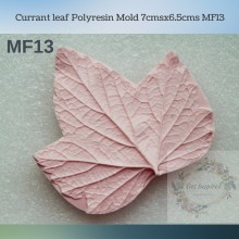 Currant leaf Polyresin Mold 7cmsx6.5cms MF13
