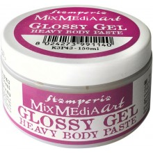 Stamperia Glossy Gel 150ml Heavy Body Paste (K3P43)