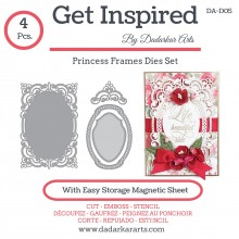 Princess Frames Dies Set  - Set of 4 Dies