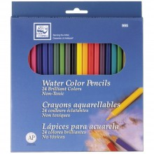Watercolor Pencils 24/Pkg By Loew-Cornell