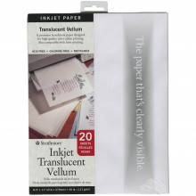 Vellum A4 20 Sheets By Strathmore Ink Jet Translucent