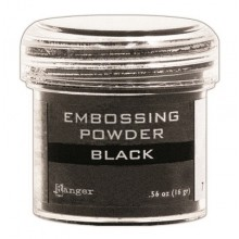 Black Ranger Embossing Powder