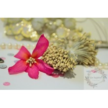 Matte Beige 2mm Head Size Flower making Stamens Stiff Thread Pollens