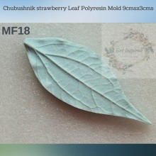 Chubushnik strawberry Leaf Polyresin Mold 9cmsx3cms MF18