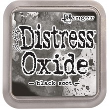 Distress Oxides Ink Pad- Black Soot