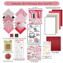 Love Notes Valentines February Card Kit