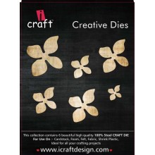 Icraft Flower Making Creative Dies Set Of Six M11