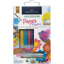 Mixed Media Paper Flowers Kit 90pc
