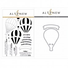 Altenew Baby Balloon Stamp & Die Bundle - 26 Pieces