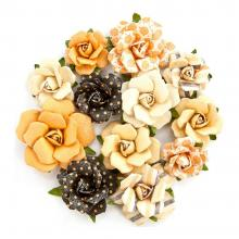 "Flowers Amber Moon Raven 1.25"" To 1.75"", 12/Pkg by Prima"