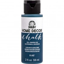 FolkArt Home Decor Chalk Acrylic Paint, 2oz Provincial Blue