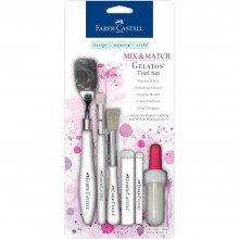 Mix & Match Gelatos Tool Set 6Pc