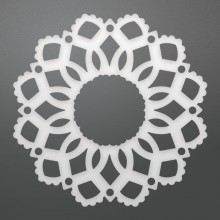 "Dies Delilah Doily 2.4"" By Couture Creations"
