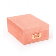 Box - Rose Glitter Storage Box By American Crafts