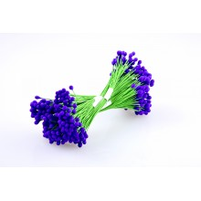 Purple-Wire Pollen-5mm Head Pack 10 Bunches