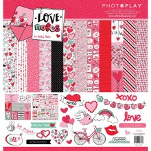 "Love Notes Photo Play Collection Pack 12""X12"""