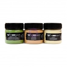 Camouflage Finnabair Art Extravagance Rust Effect Paste 50ml Jars 3/Pkg