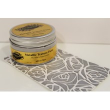 Silver Star Silk Metallic Texture Paste - 120ml Pack By Get Inspired
