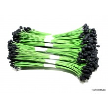 Black-Wire Pollen-3mm Head Pack 10 Bunches