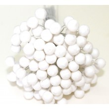 Round Styrofoam Buds 6mm Pack of 100