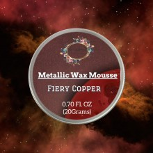 Fiery Copper Metallic Wax 20grams Tin By Get Inspired