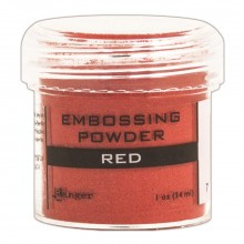 Embossing Powder Red By Ranger