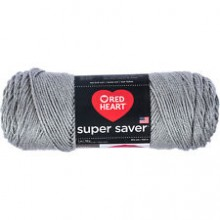 Yarn Big Size By Red Heart Super Saver  - Dusty Grey