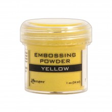 Embossing Powder Yellow By Ranger