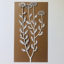 Intricate Blossom Chippies By Get Inspired - 9cms x 20cms