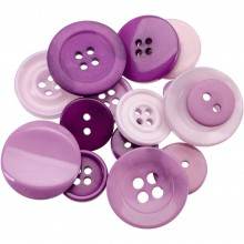Button Jar 4oz - PURPLE