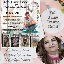 Delhi Full Course Get Inspired Workshop By Rajni Chawla & Tzanidakis Antonis