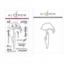 Altenew Fresh Freesia Stamp & Die Bundle - 20 Pieces