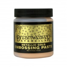 Embossing Paste Gold Dreamweaver