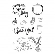 "Cling Rubber Stamps 4""X6"" By Amber Moon"