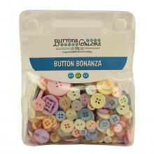 Buttons Galore Button Bonanza -  PASTEL Jumbo Pack