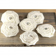 Fabric Flowers Aurora - Allure