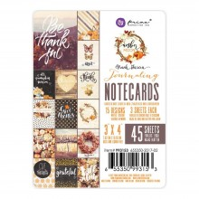 "Double-Sided Journaling Cards 3""X4"" 45/Pkg By Amber Moon"