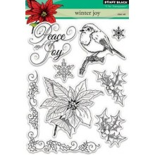 Penny Black Clear Stamps Winter Joy!