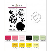 Altenew Build-A-Flower: Camellia & Ink Bundle - 19 Pieces
